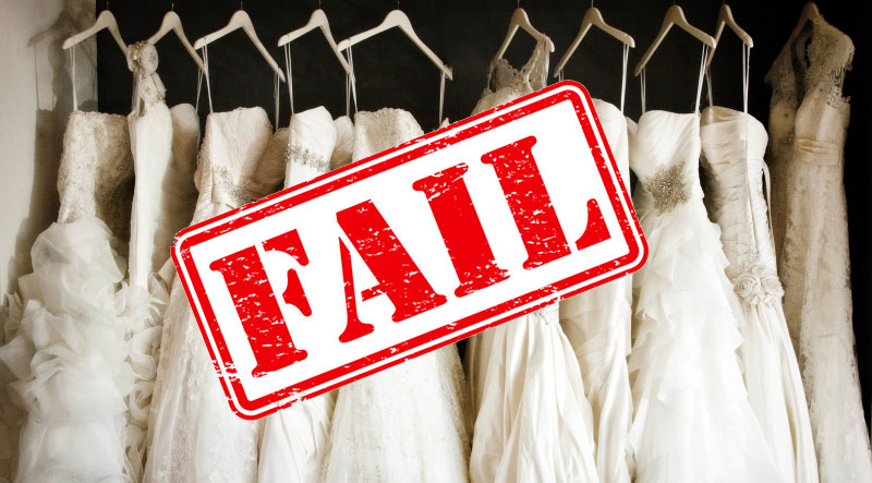 Why high street wedding shops fail the fuller-figure