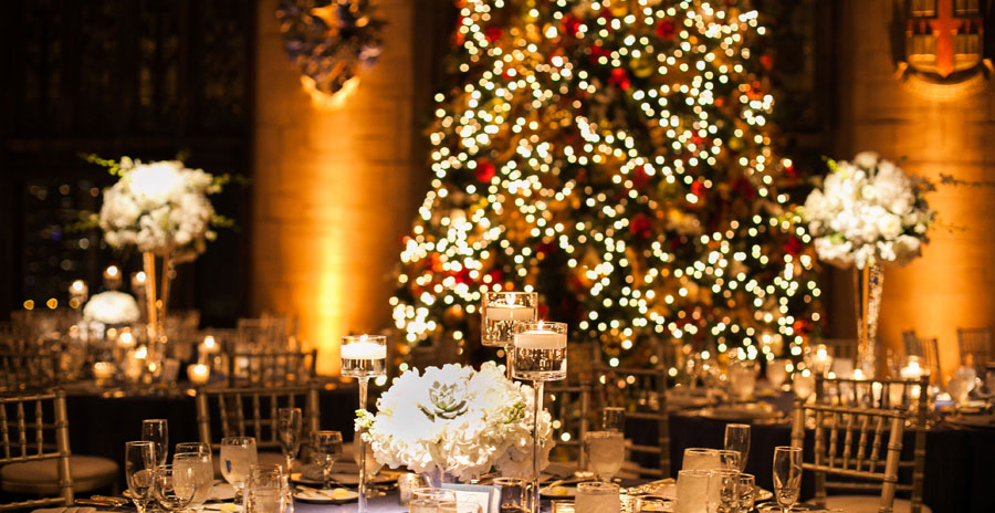 Last minute Christmas quirks for your wedding day